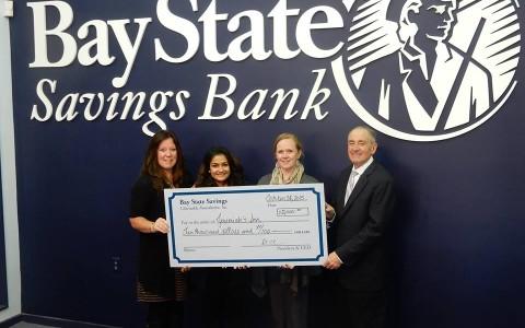 Thank You Bay State Savings Bank!